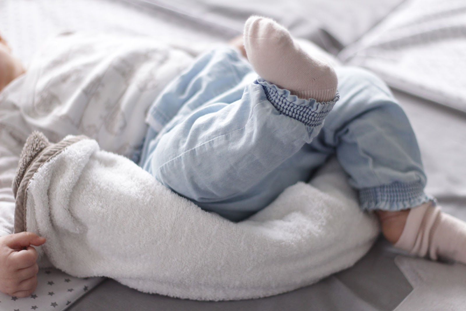 Baby seitlich lagern