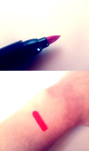 czerwona szminka sammydress, szminka bling, błyszczyk bling