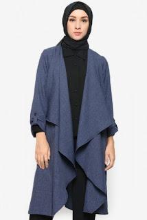30 Model Outerwear Muslimah Yang Paling Trend Terbaru Tahun Ini