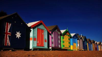 Brighton beach australia dan masbro village