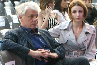 Photo of Michele Placido and Federica Vincenti