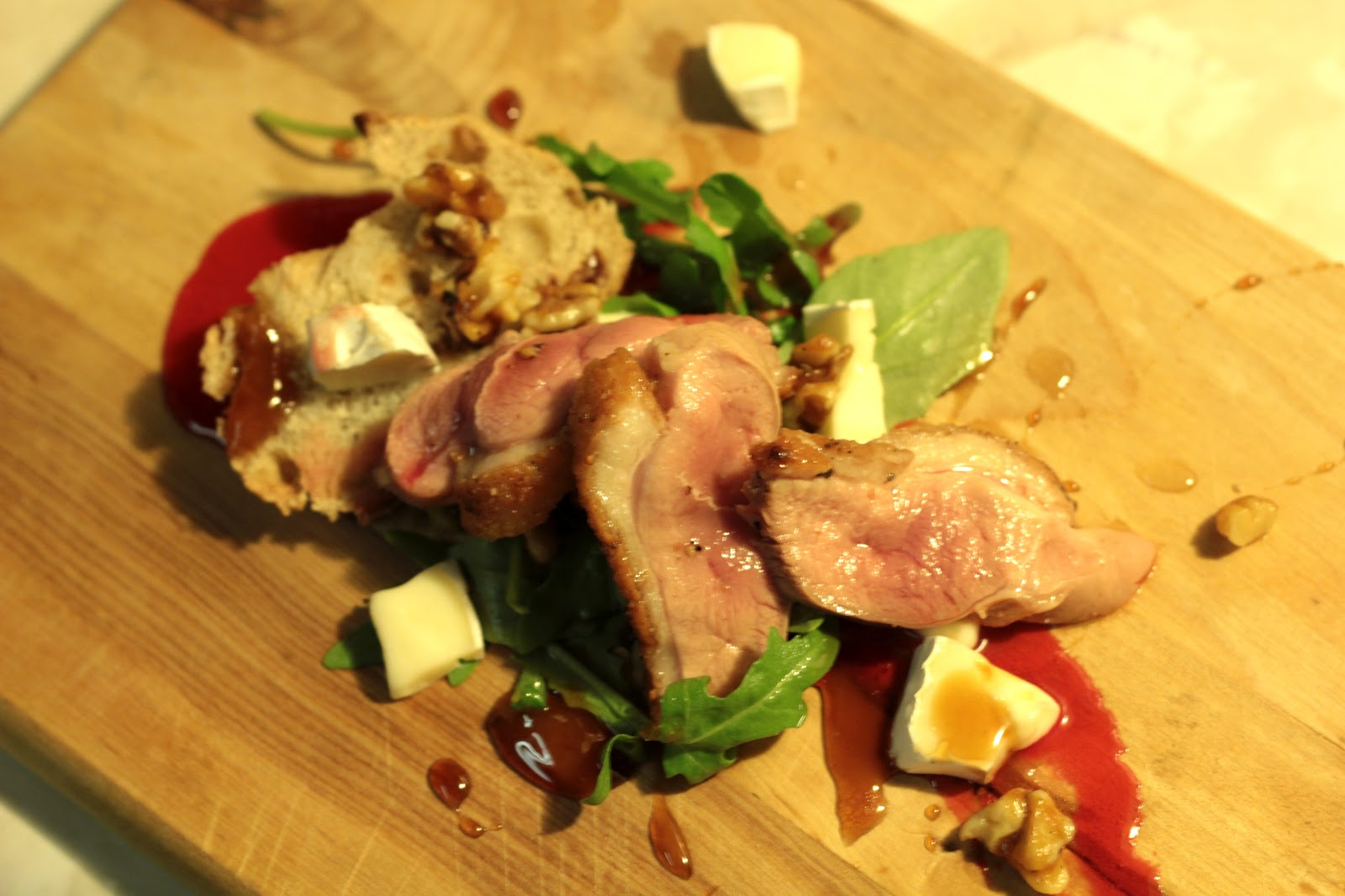 Candied breast of duck recipe