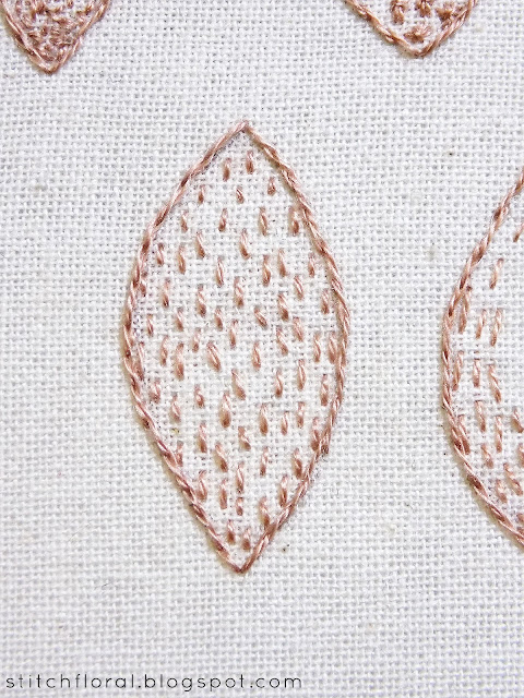 Learn how to seed stitch and how to shade with seeding