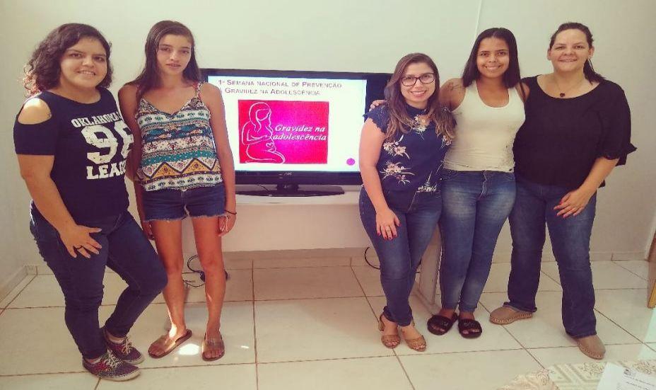 Severínia realiza atividades na Semana Nacional de Prevenção da Gravidez na Adolescência