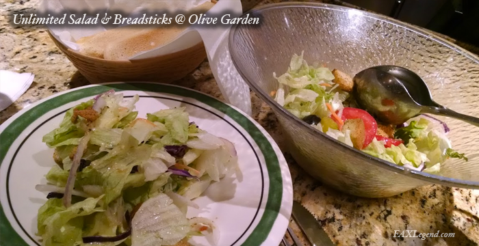 Olive Garden Breadstick Sandwiches Are Really Happening: Olive Garden's Breadstick Sandwich Lunch Special