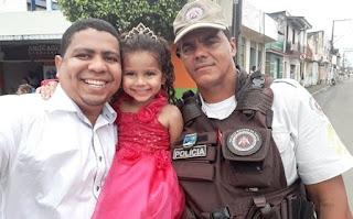 Mateus Santos e Subtenente Sena I Foto: Divulgação