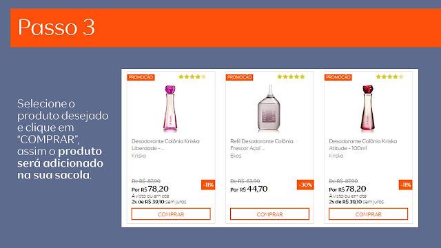♫Como comprar na Rede Natura pele internet ( online )