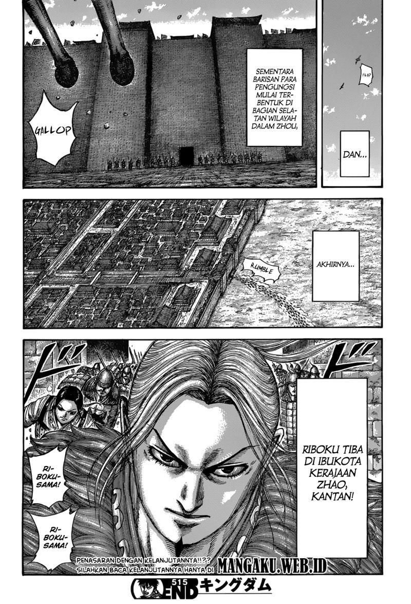 Baca Komik Manga Kingdom Chapter 515 Komik Station