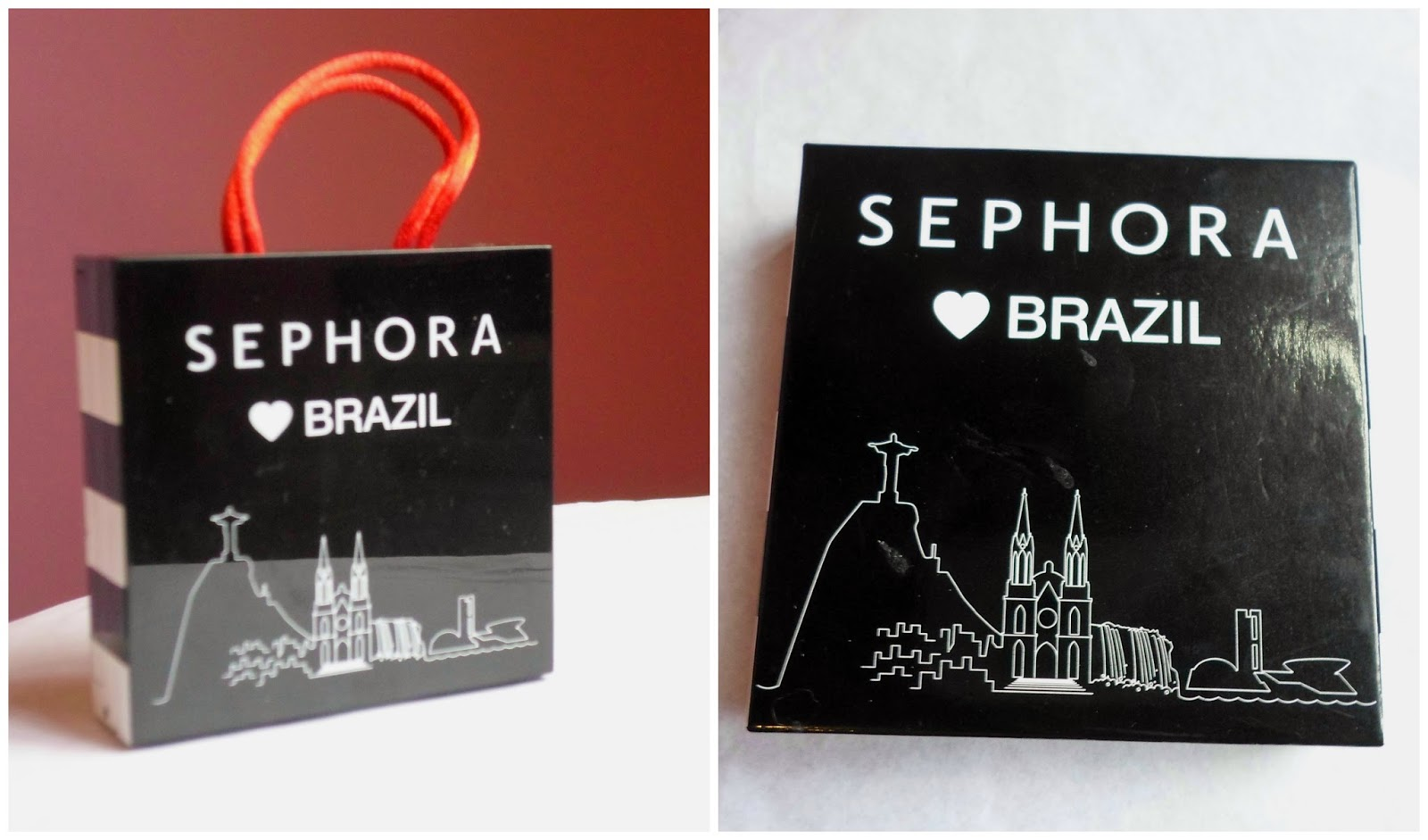 mini bag I love Brazil