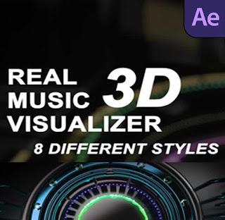 إضافة تموجات صوتية ثري دي داخل مقاطع الفيديو للافتر افكت