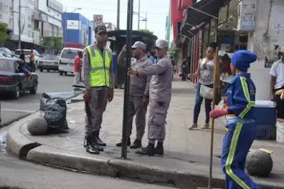 La ciudad de Santo Domingo amaneció militarizada