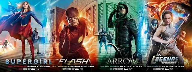 Invasion! O crossover da DC na TV