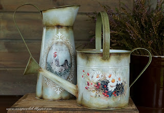 Country style decoupage