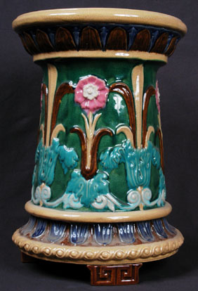 glazed and confused some new majolica reproductions. Black Bedroom Furniture Sets. Home Design Ideas