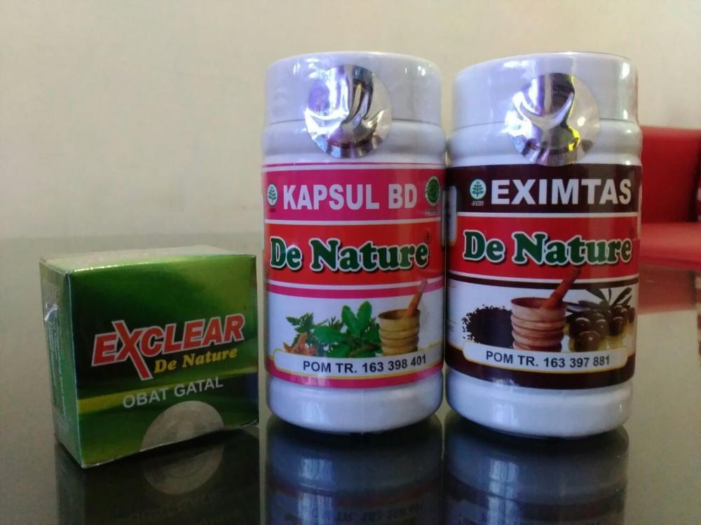 Kapsul Bersih Darah (BD), Eximtas, Salep Exclear Obat Eksim de Nature