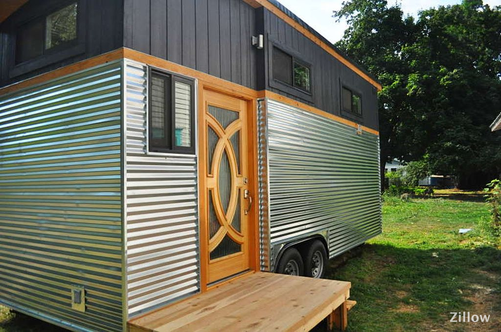 TINY HOUSE TOWN: Sandpoint Tiny House (261 Sq Ft) on used double wide mobile homes, fsbo mobile homes, craigslist mobile homes,