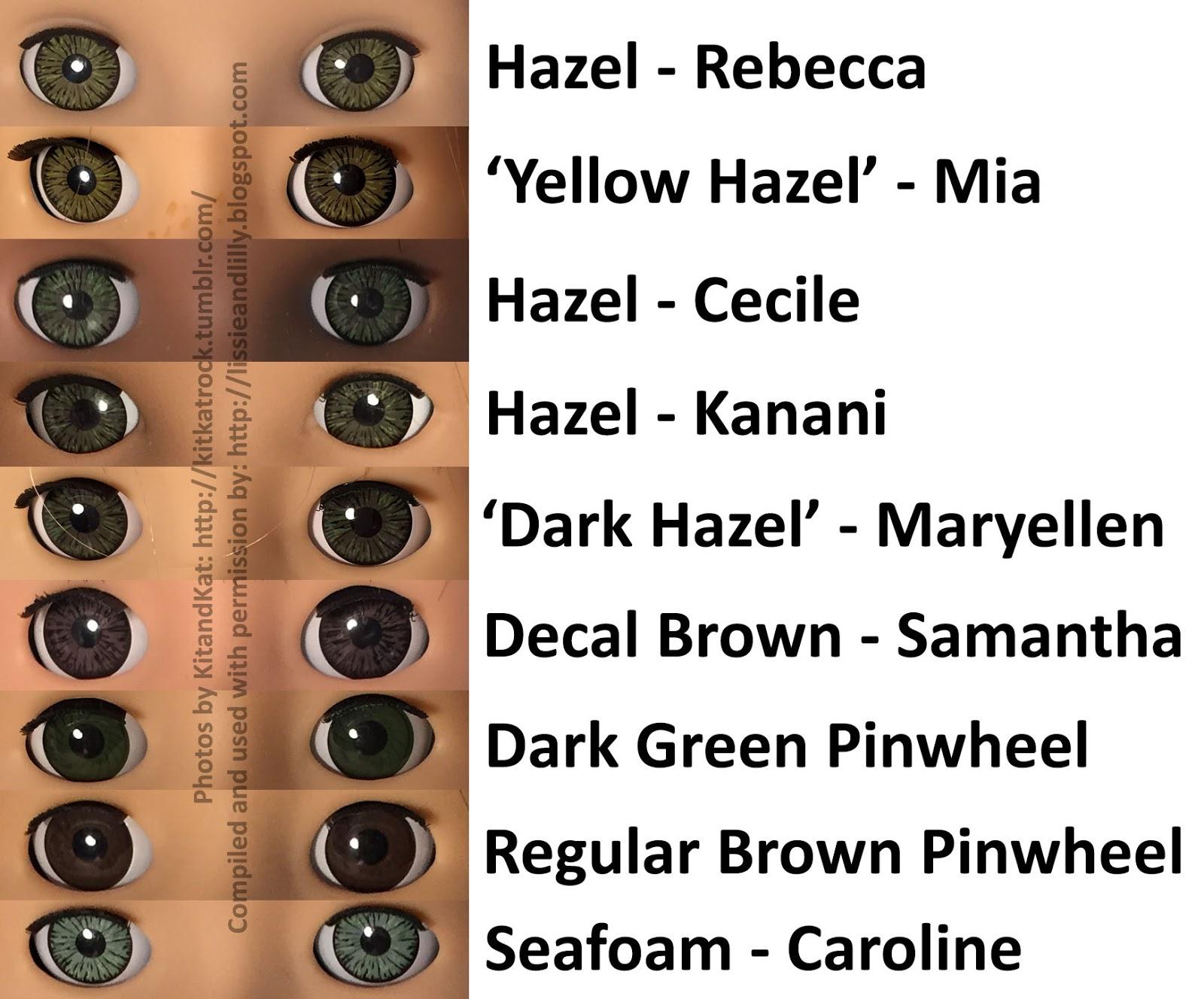 Lissie Amp Lilly Maryellen Eye Amp Hair Comparison Photos