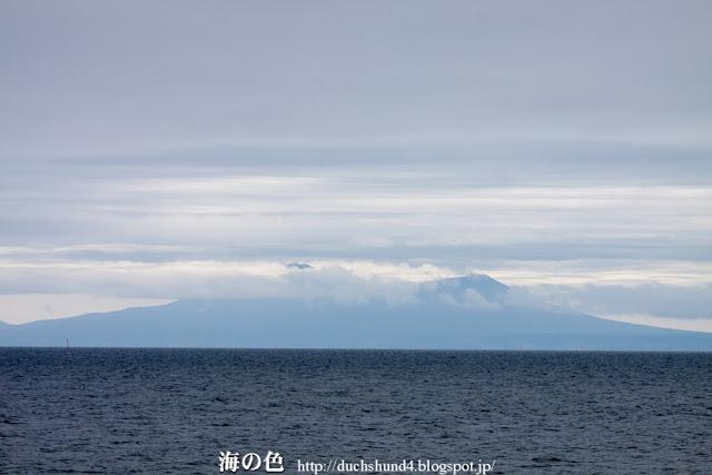 国後島 羅臼山