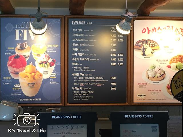 釜山行程及遊記:BeansBins鬆餅、芒果冰食記