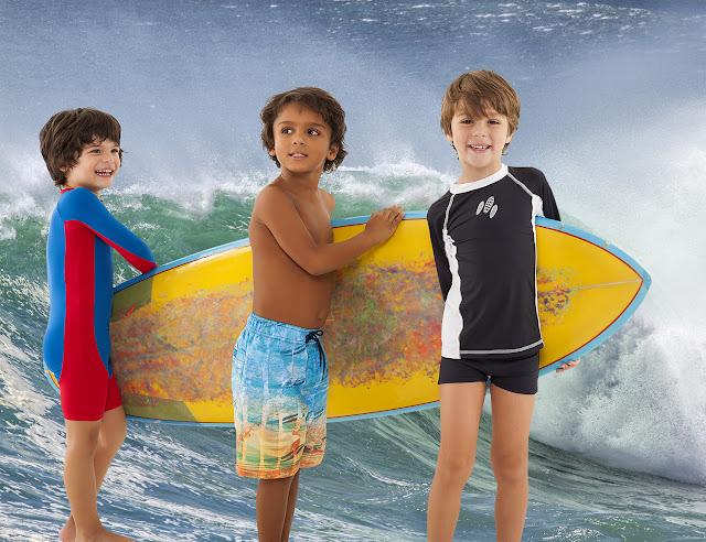 moda praia infantil