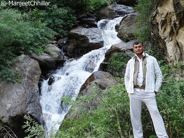 Waterfall In Kinnaur