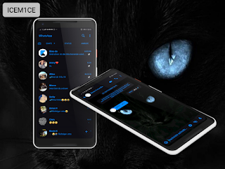 Black Cat Theme For YOWhatsApp & Fouad WhatsApp By Whats Plus