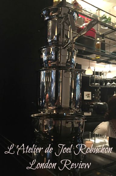 L'Atelier de Joel Robuchon London Review