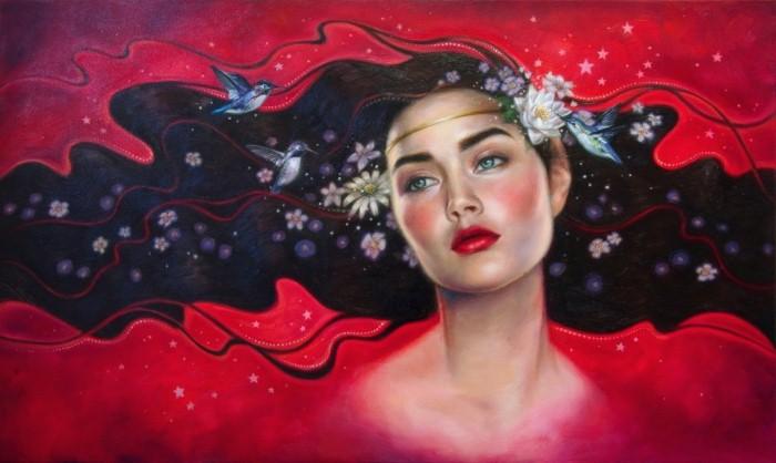 Красота живописи. Sara Golish 19