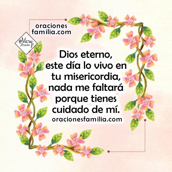 Frases cristianas con oraciones para este buen día, imágenes con oraciones por Mery Bracho. Oración de la mañana.