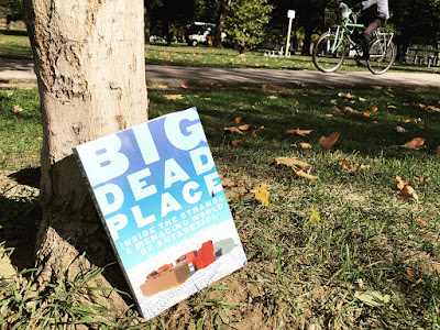 "Troian Bellisario donated book ""Big Dead Place: Inside the  Strange and Menacing World of Antarctica"" in Canada"