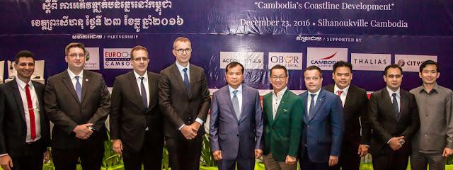Première grande conférence sur le thème du  développement du littoral cambodgien