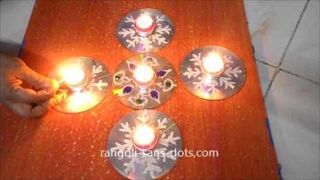 Diwali Diya Decoration Ideas 2510a