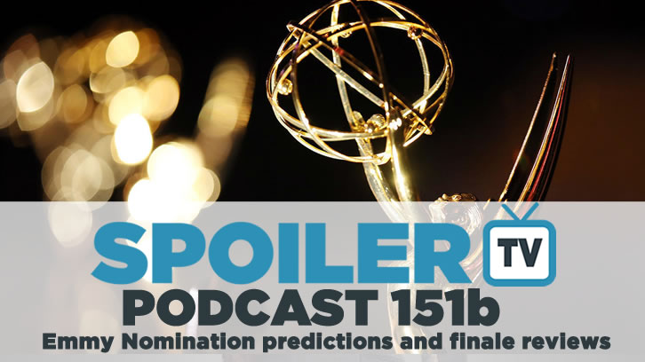 STV Podcast 151b - Emmy predictions and finale reviews