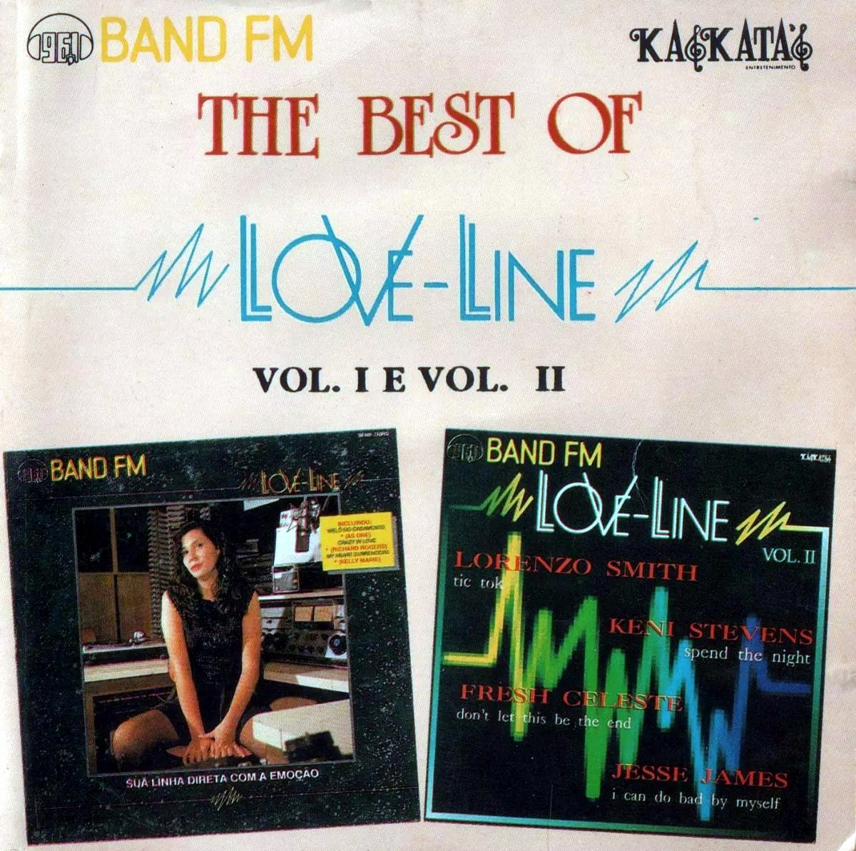 Love Line The Best Of Volumes 1 E 2 1993