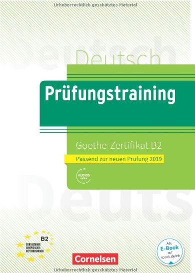 Book Prüfungstraining Goethe Zertifikat B2 2019 Pdf Cd
