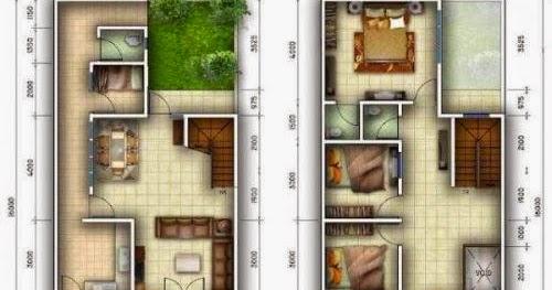 Gambar Desain Rumah Minimalis Luas Tanah 72