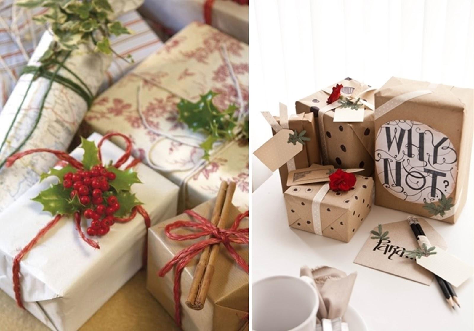 papier pakowy szary proste pomysly na pakowanie prezentow gwiazdka christmas swieta boze narodzenie