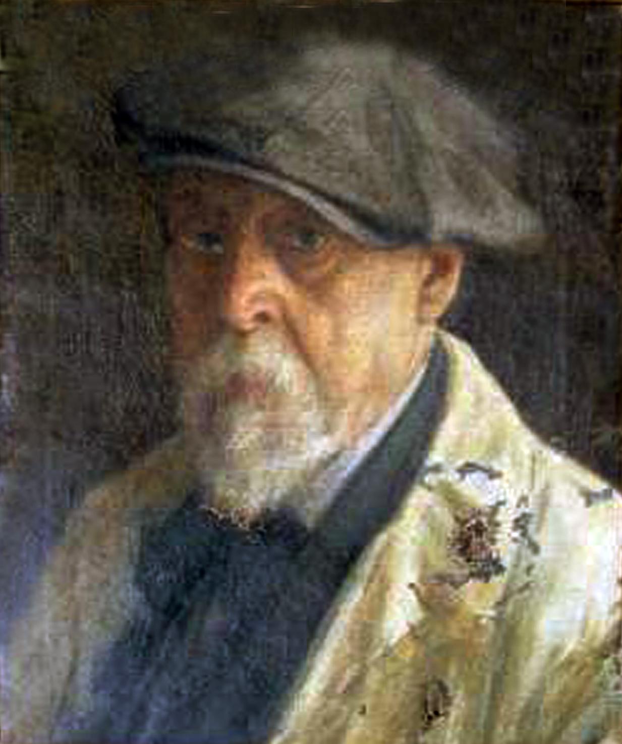 Antoni Coll i Pi, Galería de autorretratos, Pintor español, Pintura española, Pintores Realistas Españoles, Galería de retratos Figurativos, Pintor Antoni Coll