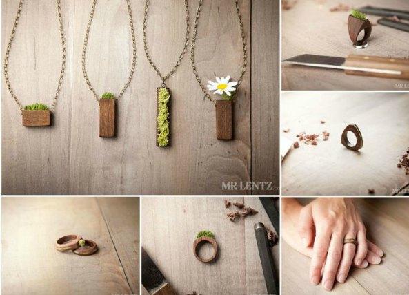 Amuletos Toca madera y como hacerlos