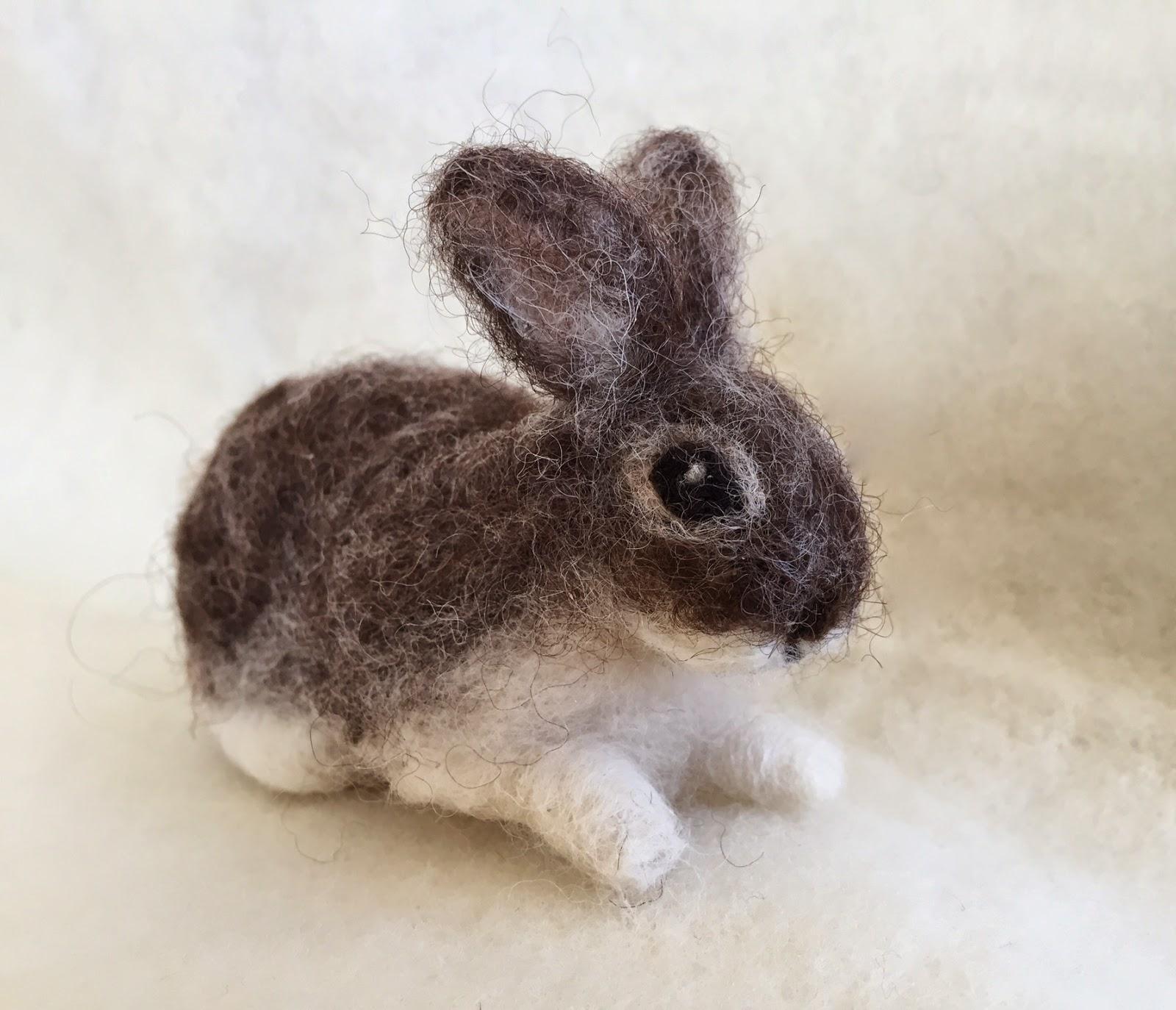 Needle Felt Bunny Giveaway