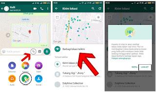 Cara Mengetahui Lokasi Seseorang Lewat Whatsapp di HP Android Terlengkap