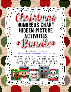 http://www.teacherspayteachers.com/Product/BUNDLE-Christmas-Hundreds-Chart-Hidden-Picture-Activities-for-Math-1017713