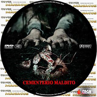 GALLETA CEMENTERIO MALDITO - PET SEMATARY - 2019 [COVER DVD]