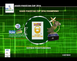 HD Studioz Haier Pakistan Cup 2016 Patch For Cricket 07