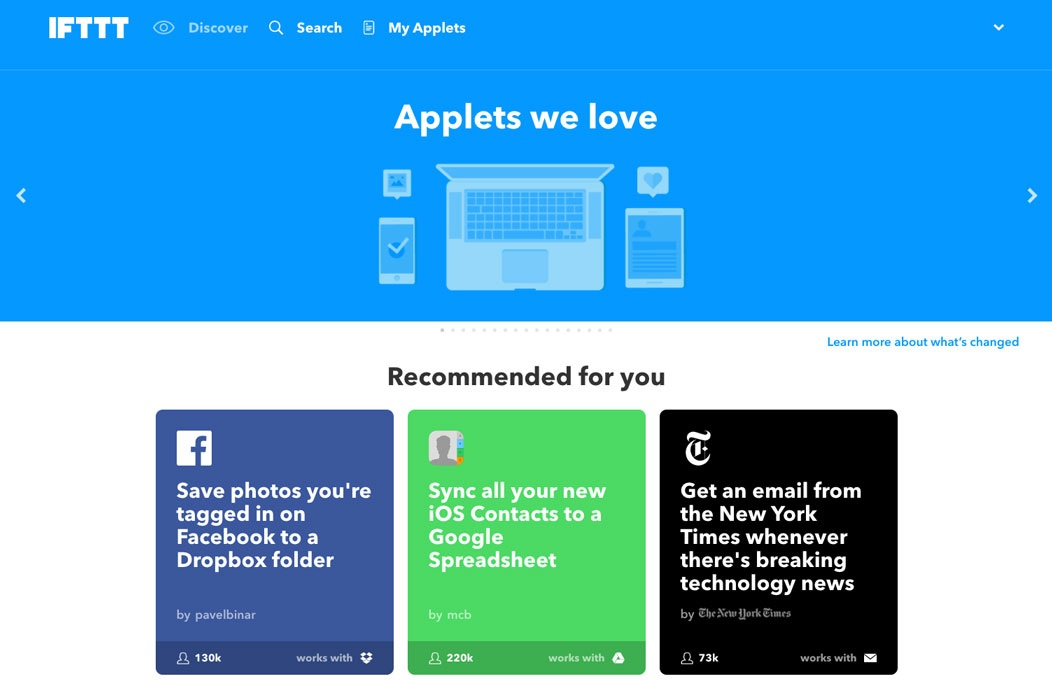 The Best IFTTT Applets For Efficient Social Media Marketing