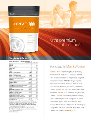 thrive ultra micronized shake