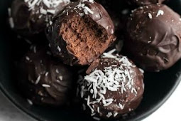 No Bake Brownie Batter Truffles