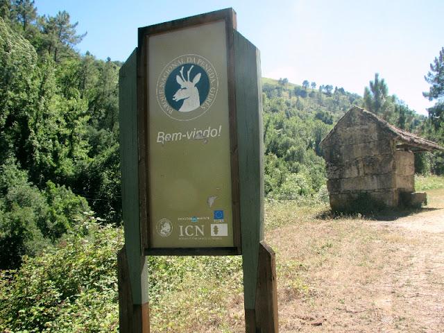 Olaca de sinalização do Parque do Gerês