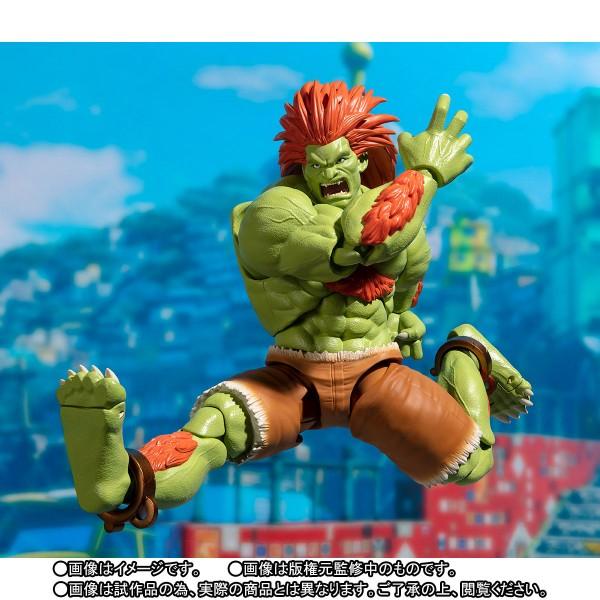 S.H.Figuarts Blanka de Street Fighter V - Tamashii Nations