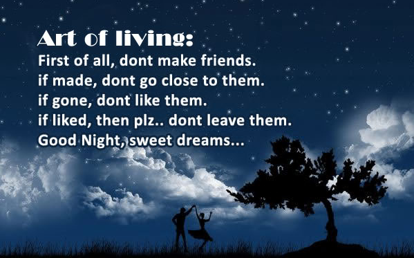 Friendship Quotes About Dreams : Good night quotes new collection find